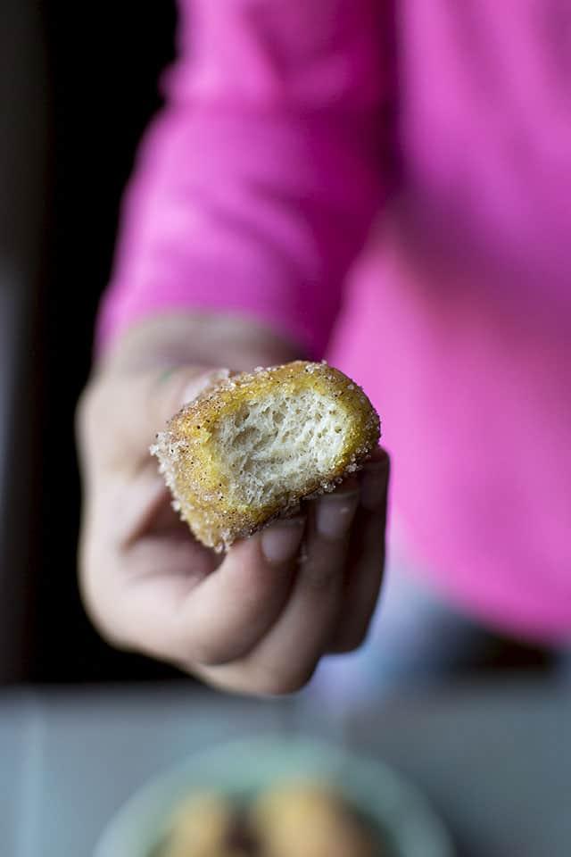 Sweet Pretzel Bites