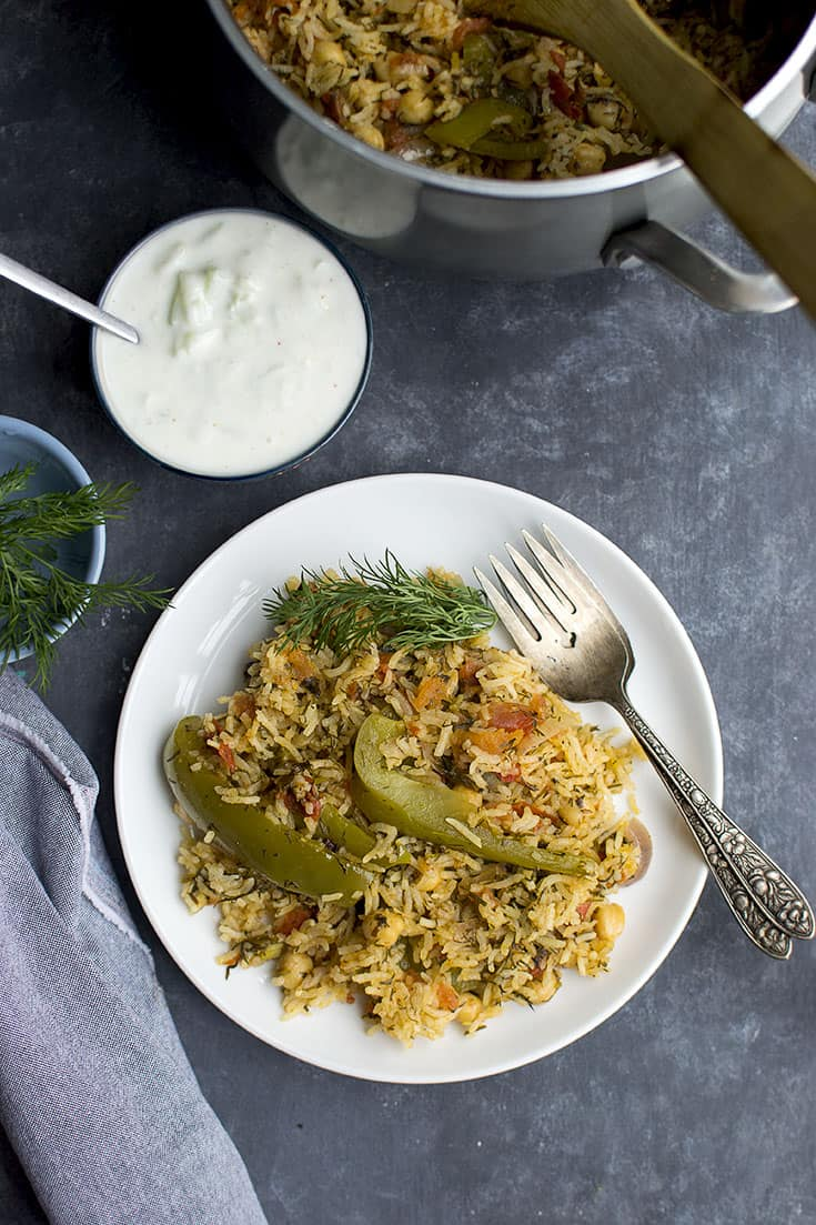 Tomato and Dill Rice