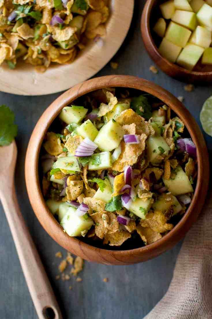 Crunchy Raw Mango Salad