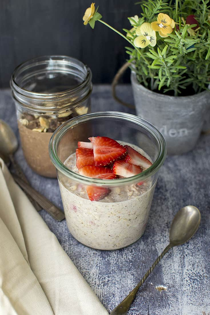 2 ways Overnight Oats