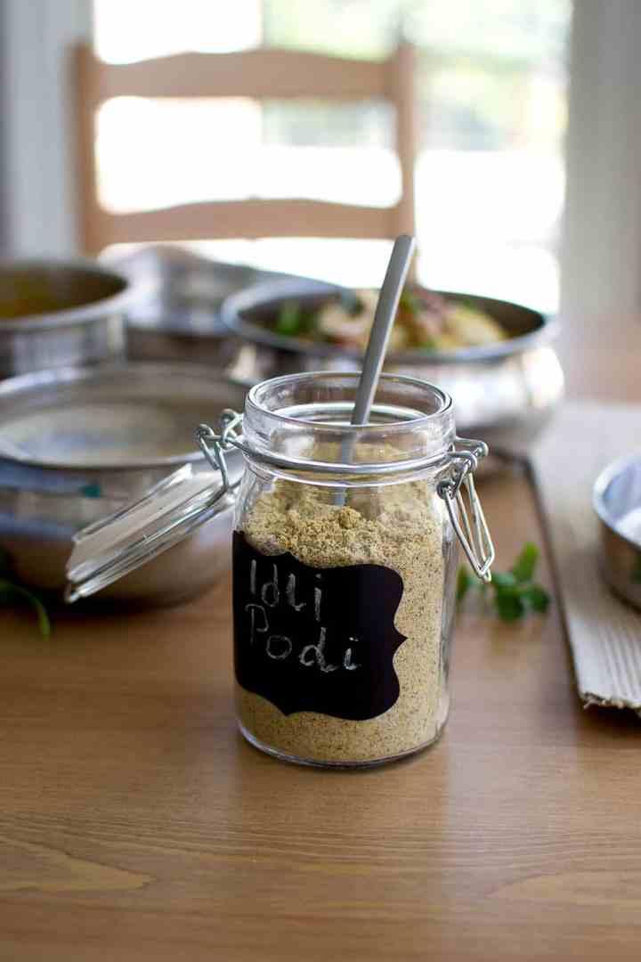 Idli with Spice powder