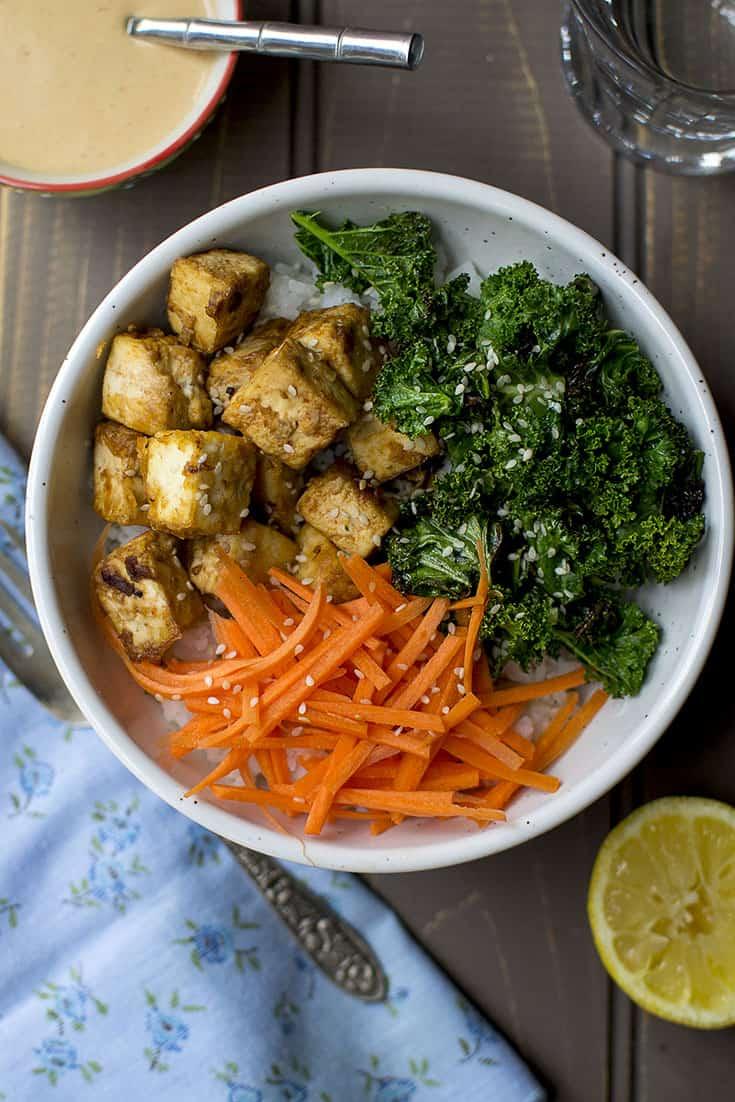 Asian Style Baked Tofu