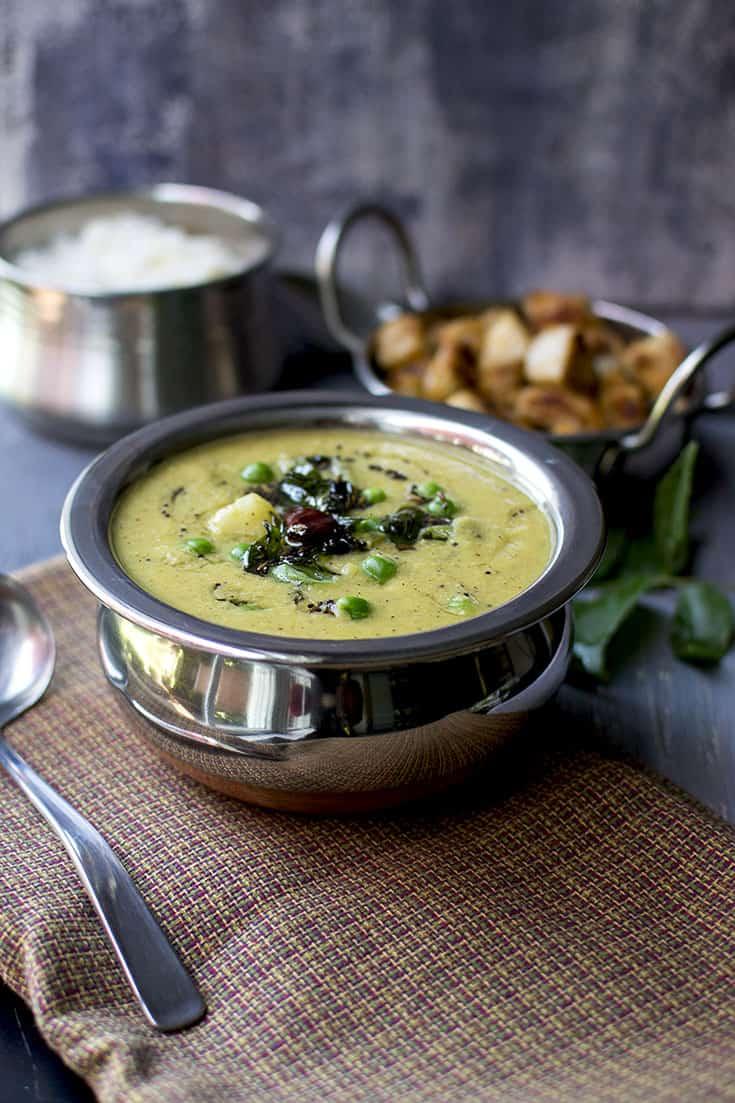Mysore Kuzhambu (Vegan Recipe)
