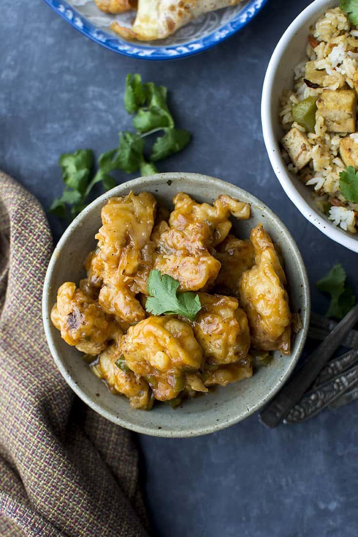 Gobhi Manchurian (Indo-Chinese Cauliflower Fritters) Recipe