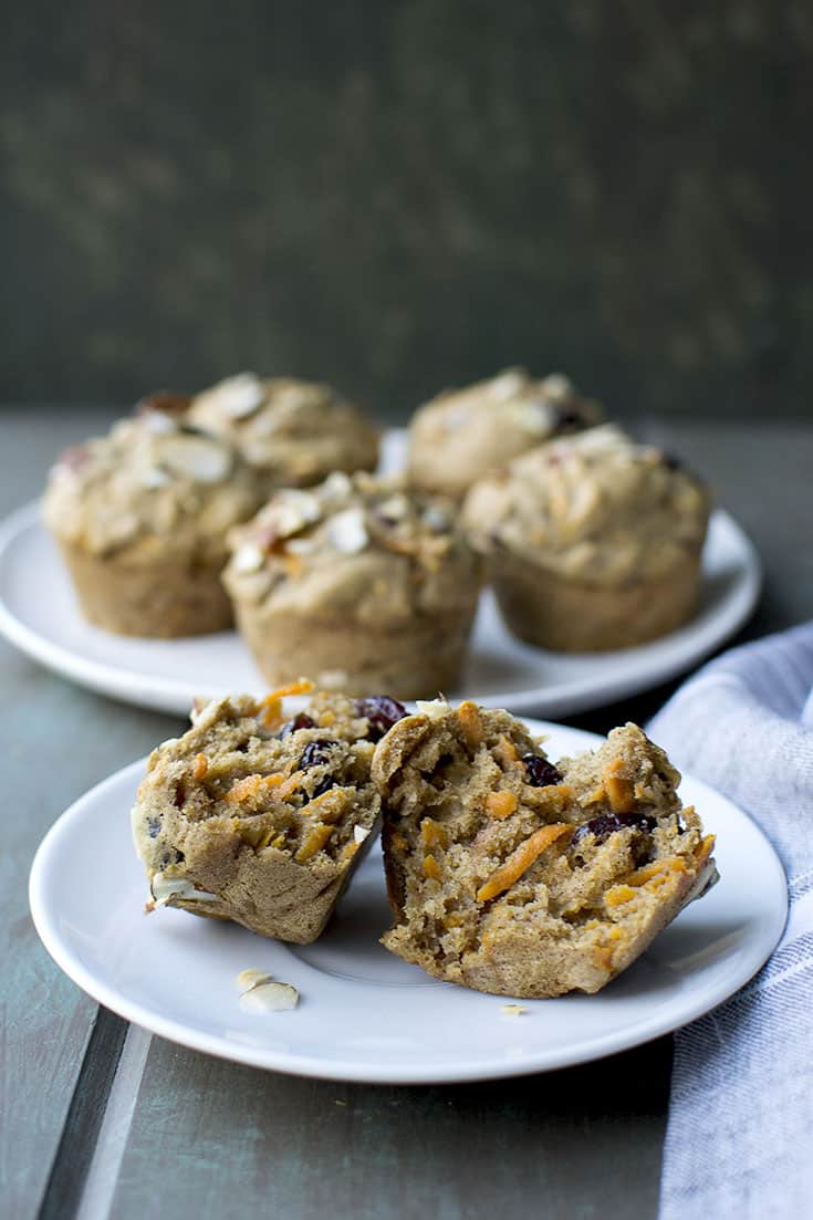 Sugarfree Harvest Muffins for #BreadBakers