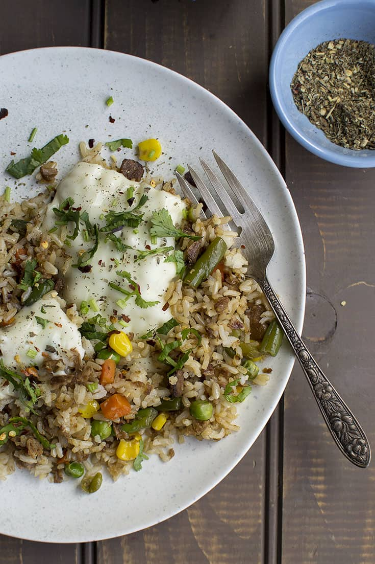 Italian style Fried Rice Recipe