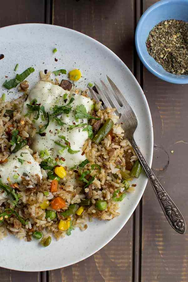Italian style Fried Rice