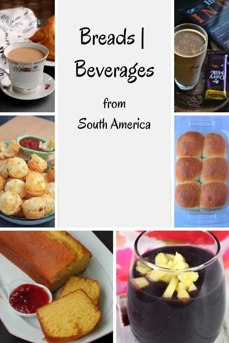 Breads & Beverages from Southern Hemisphere