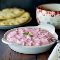Persian Yogurt Beet Dip Recipe | Must-e-Laboo