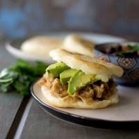 Vegan Venezuelan Arepas Recipe | Jackfruit filling