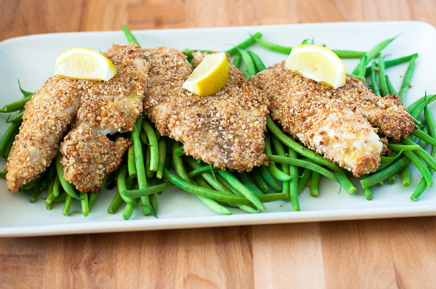 Potato Flounder Crusted Recipe