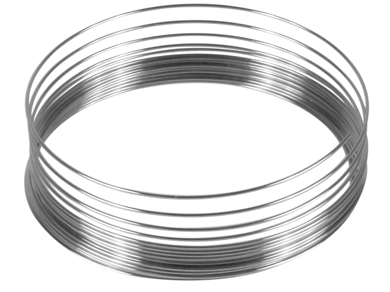 hight resolution of beadalon memory wire bracelet 19 coils pack of 6 7 1gm click to see larger view