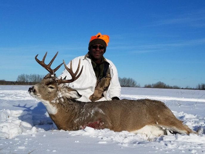 whitetail deer hunt - image