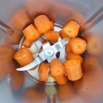 Karotten und Knoblauch