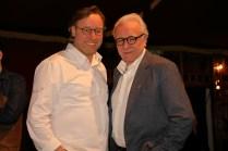 Thomas Bühner und Alain Ducasse auf der 68. Berlinale am 19.2.2018 im Gropius Mirror Restaurant. © Foto: Birgit Ellrott, 2018