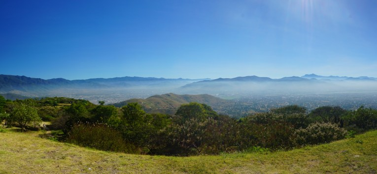 View of Oaxaca from Monte Alban
