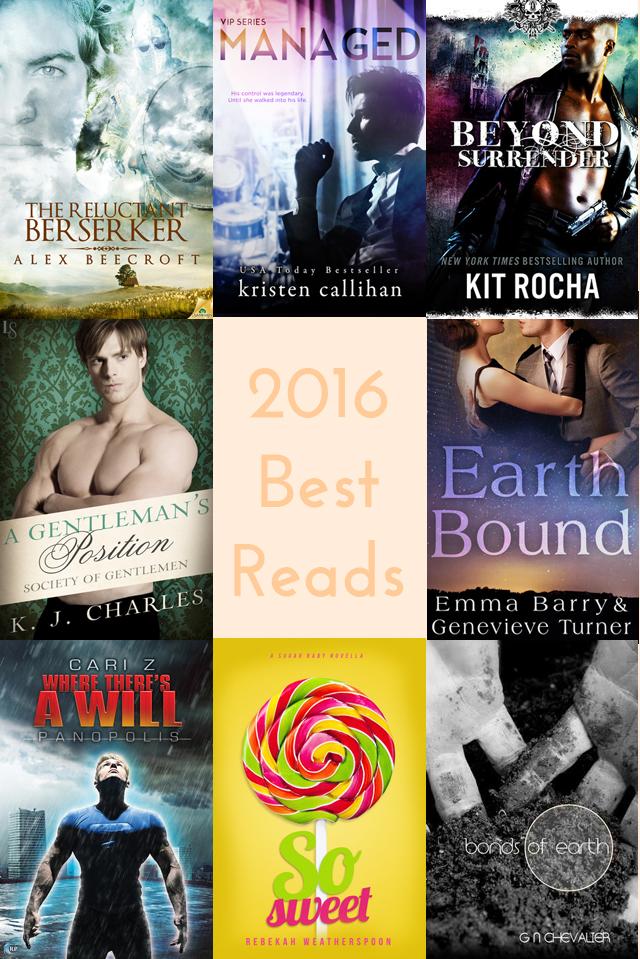 Cooking Up Romance 2016 Best Reads