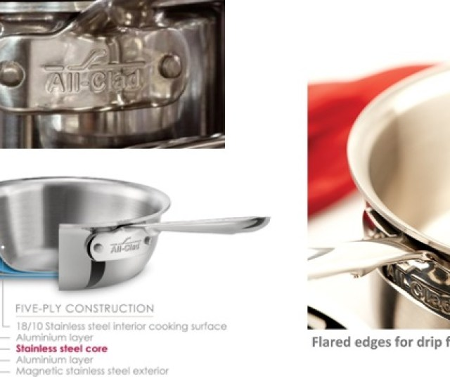 All Clad Stainless Steel Cookware