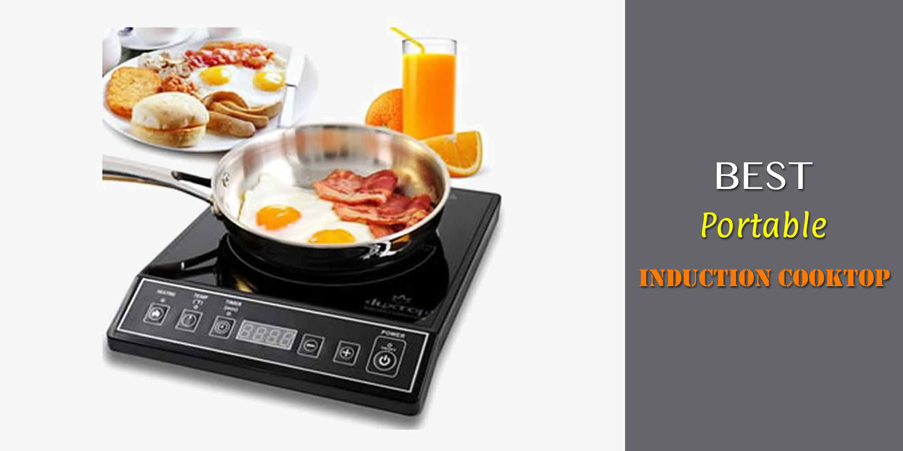 Best Portable Induction Cooktop In 2019 Guide Amp Reviews