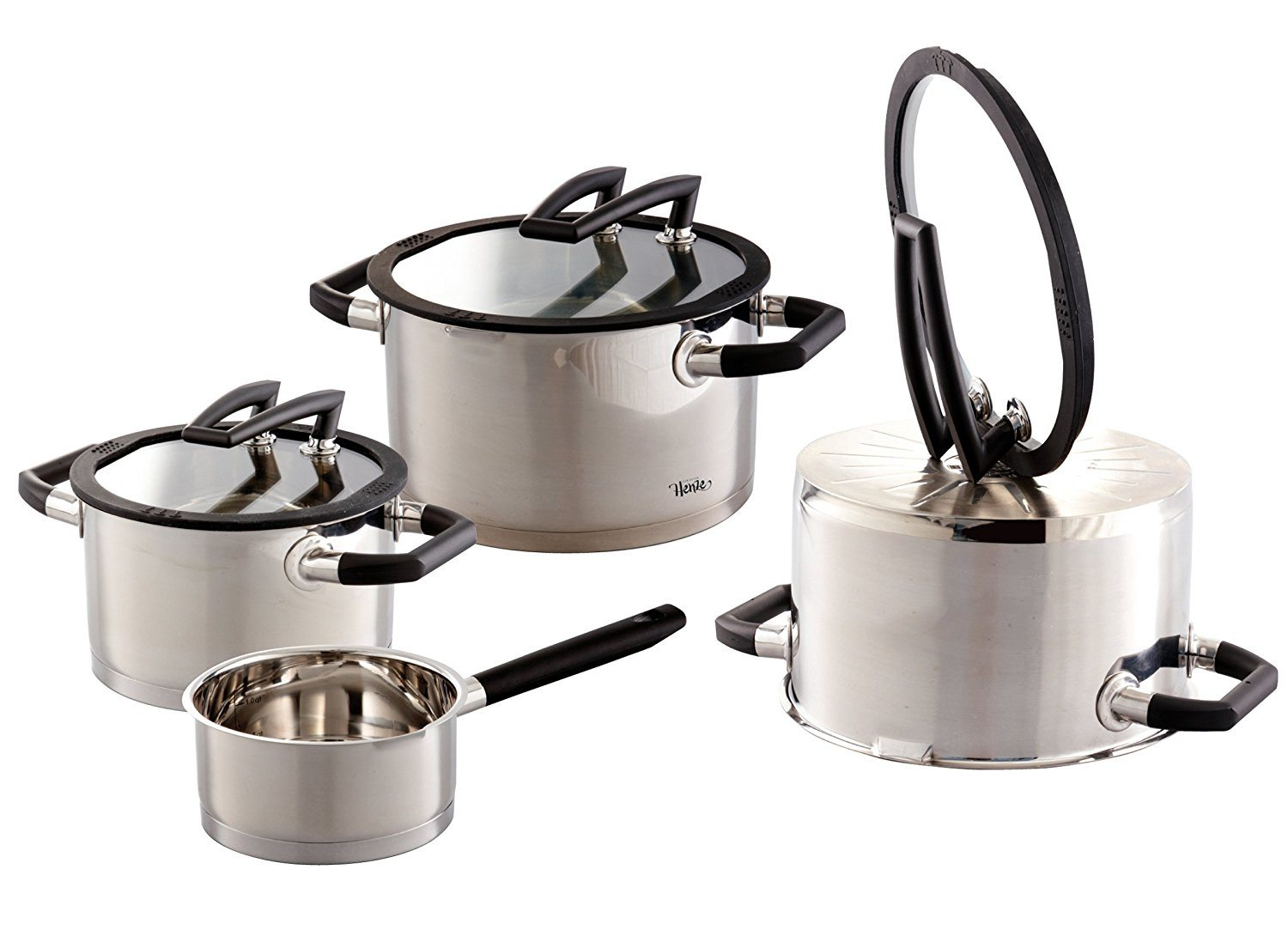 ELO 7-Piece stainless steel cookware set