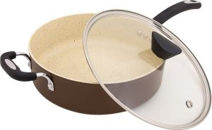 The Stone Earth All-In-One Sauce Pan by Ozeri