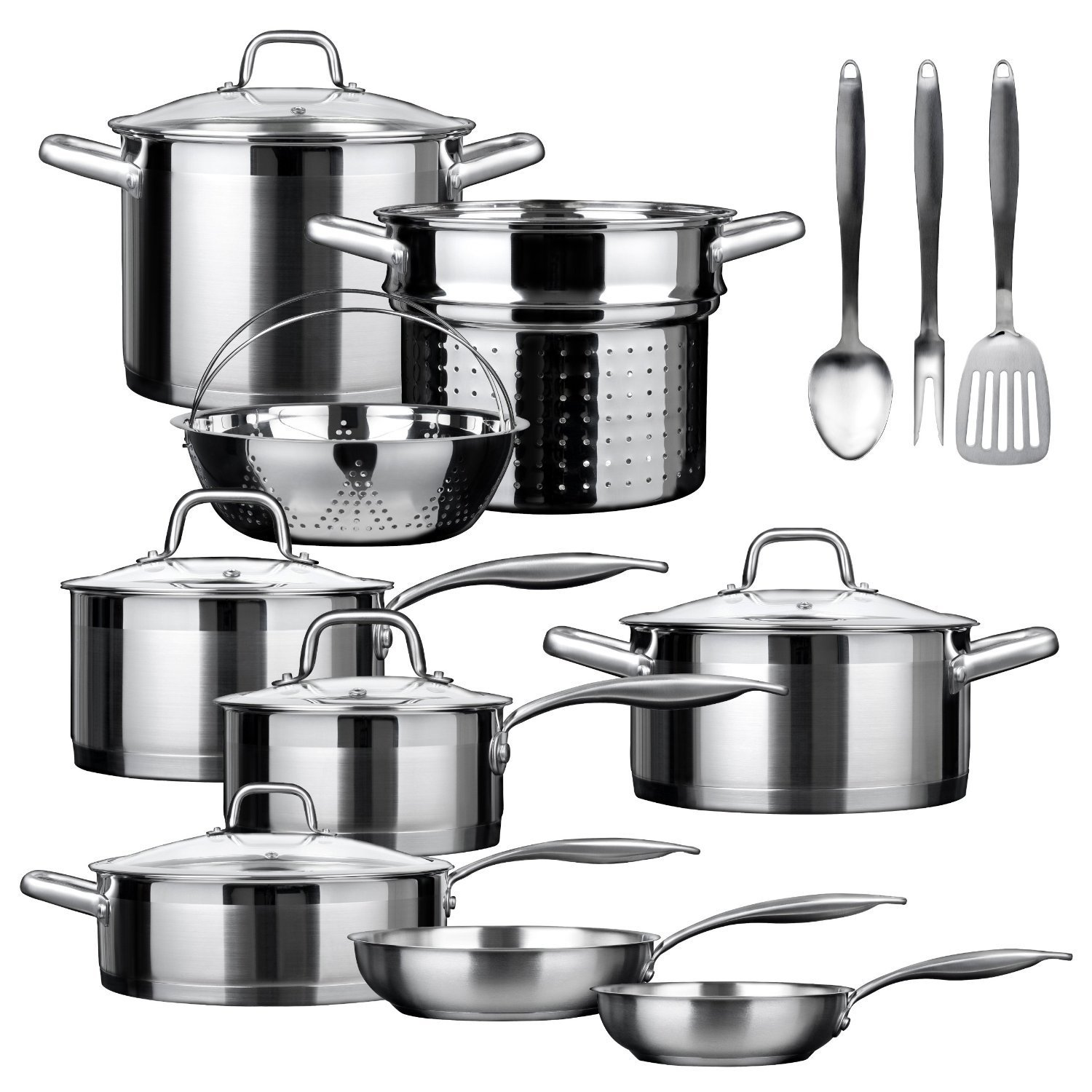Duxtop SSIB-17, 17 piece Stainless Steel Cookware Set Review