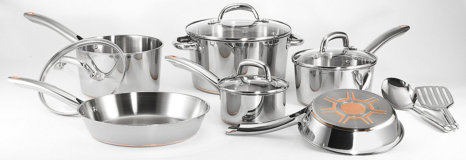 T-fal C836SC 12-Pieces Stainless Steel Cookware Set Review