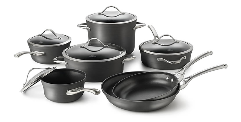 Calphalon Hard-Anodized Aluminum Nonstick Cookware Set, 12-Piece Review
