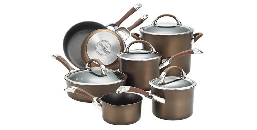 Circulon Symmetry Hard Anodized Nonstick 11-Piece Cookware Set Review