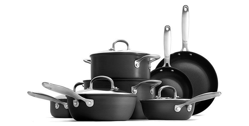 OXO Good Grips Non-Stick Pro Dishwasher safe 12 Piece Cookware Set Review