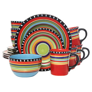 Gibson Elite Pueblo 16-Piece Dinnerware set