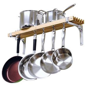 2. Cooks Standard Wall Mount Pot Rack Review