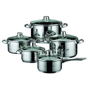 ELO Skyline Stainless Steel 10-Piece Cookware Set