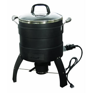 Masterbuilt 20100809 Oil-Free Electric Turkey Fryer and Roaster