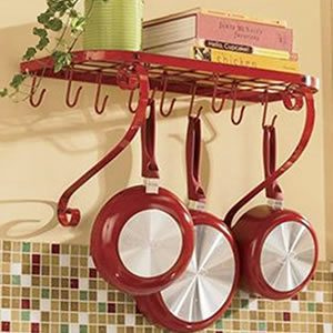 VDOMUS Square Grid Wall Mount Pot Rack Review