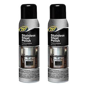 Zep Commercial Stainless Steel Cleaner 2-Pack Review