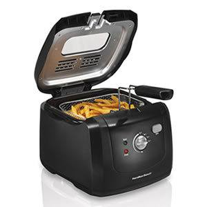 Hamilton Beach (35021) Deep Fryer with Cool Touch