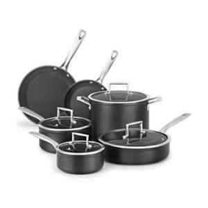 KitchenAid KCH2S5BKM Hard Anodized Nonstick 5-Piece Cookware Set Review
