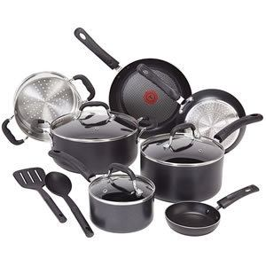 T-fal C515SC Professional 12-Piece Nonstick Cookware Set