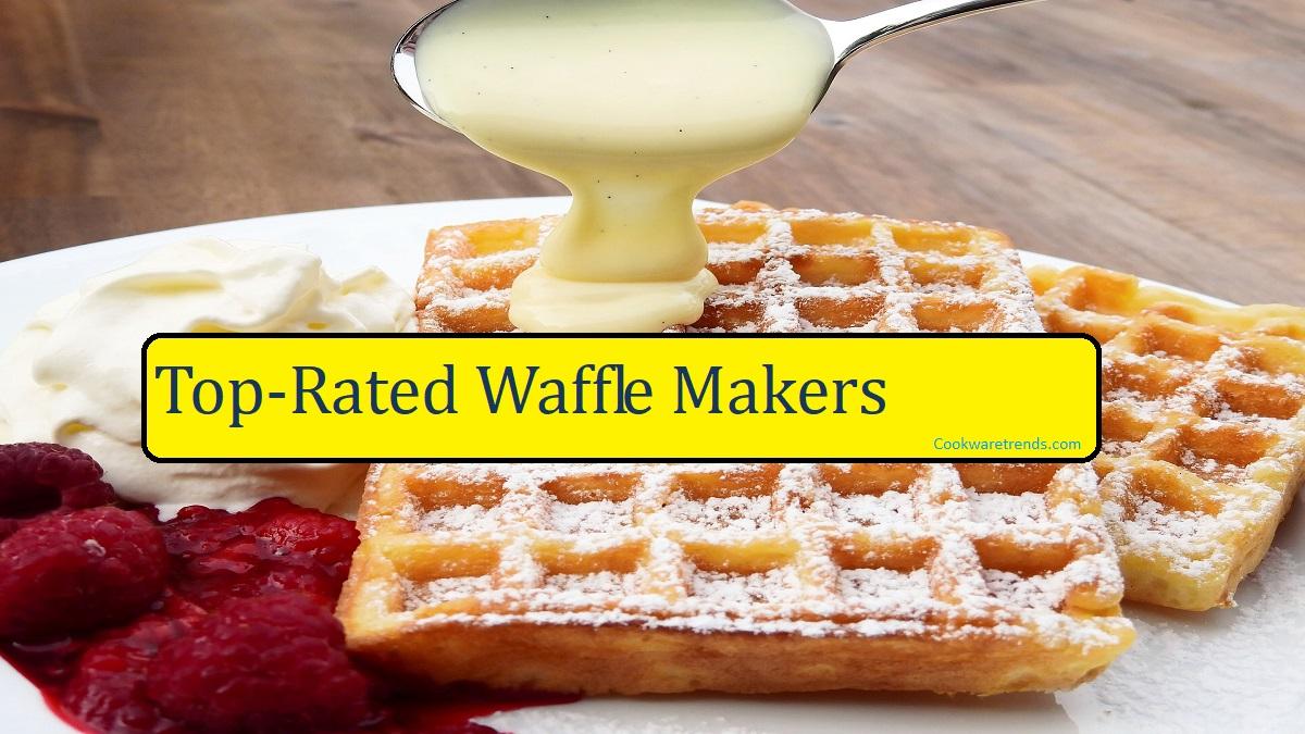 Restaurant-style Waffle Nonstick Cuisinart Belgian Waffle Maker Extra-deep 1 in