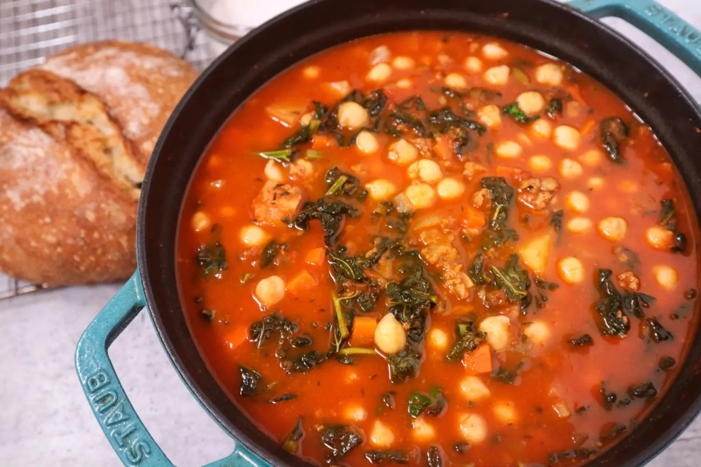 Chorizo & Chickpea Stew