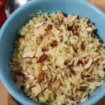 Instant Pot Orange Almond Rice Pilaf | Quick & Easy Side Dish
