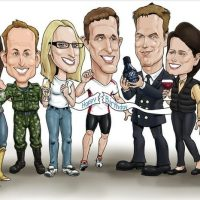 Full Body Caricatures