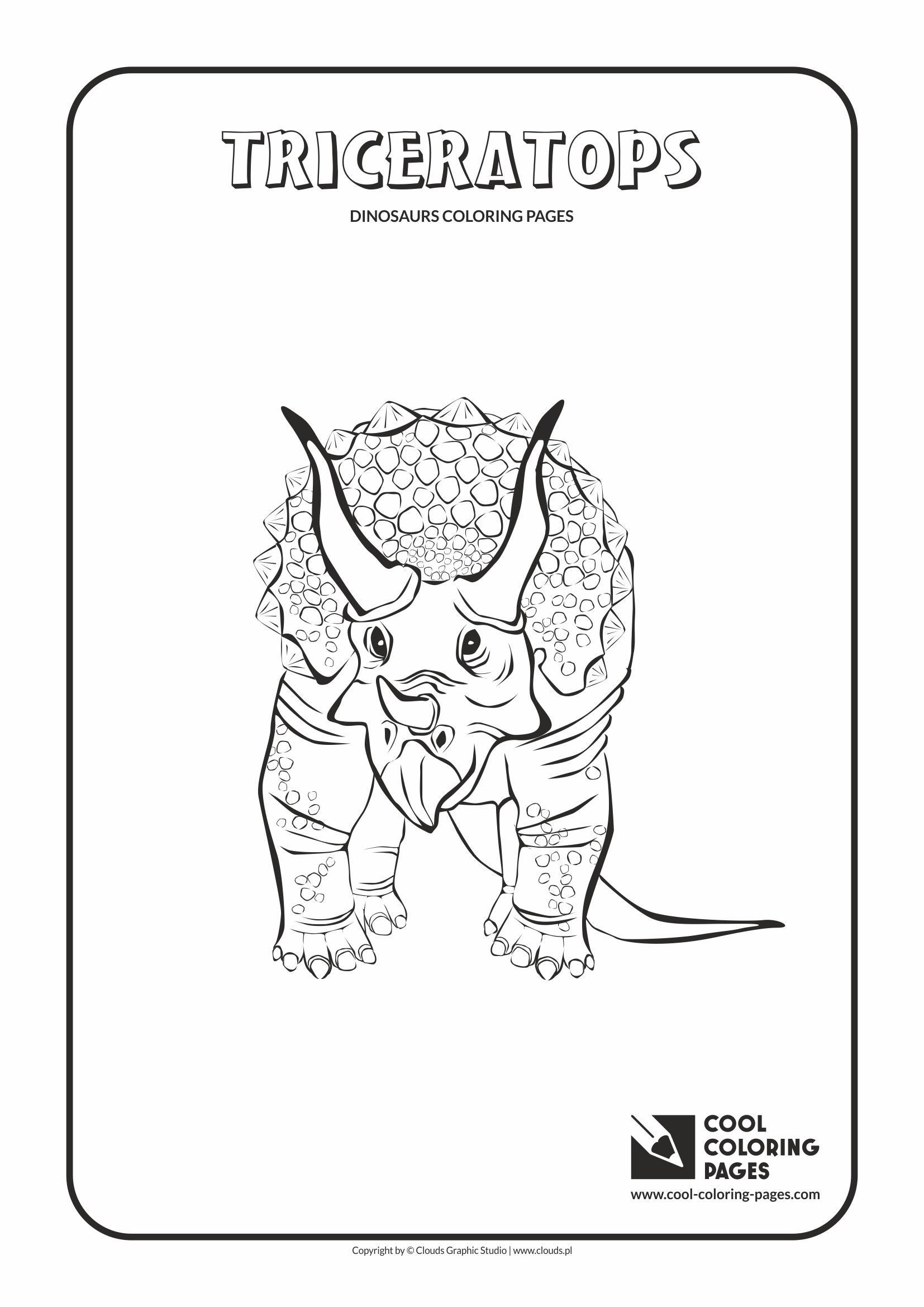 Cool Coloring Pages Dinosaurs Coloring Pages