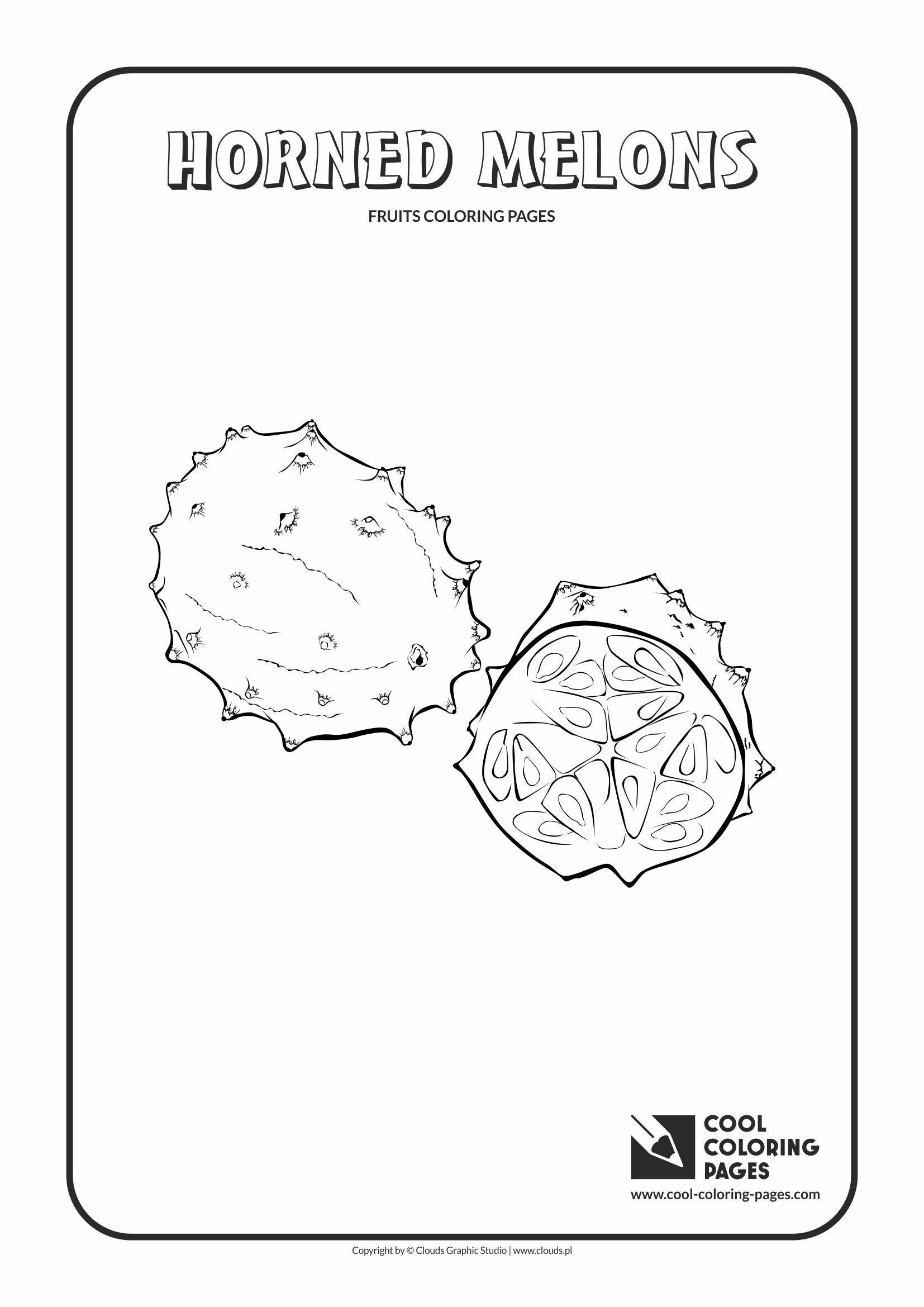 Persimmon Coloring Coloring Page Coloring Pages
