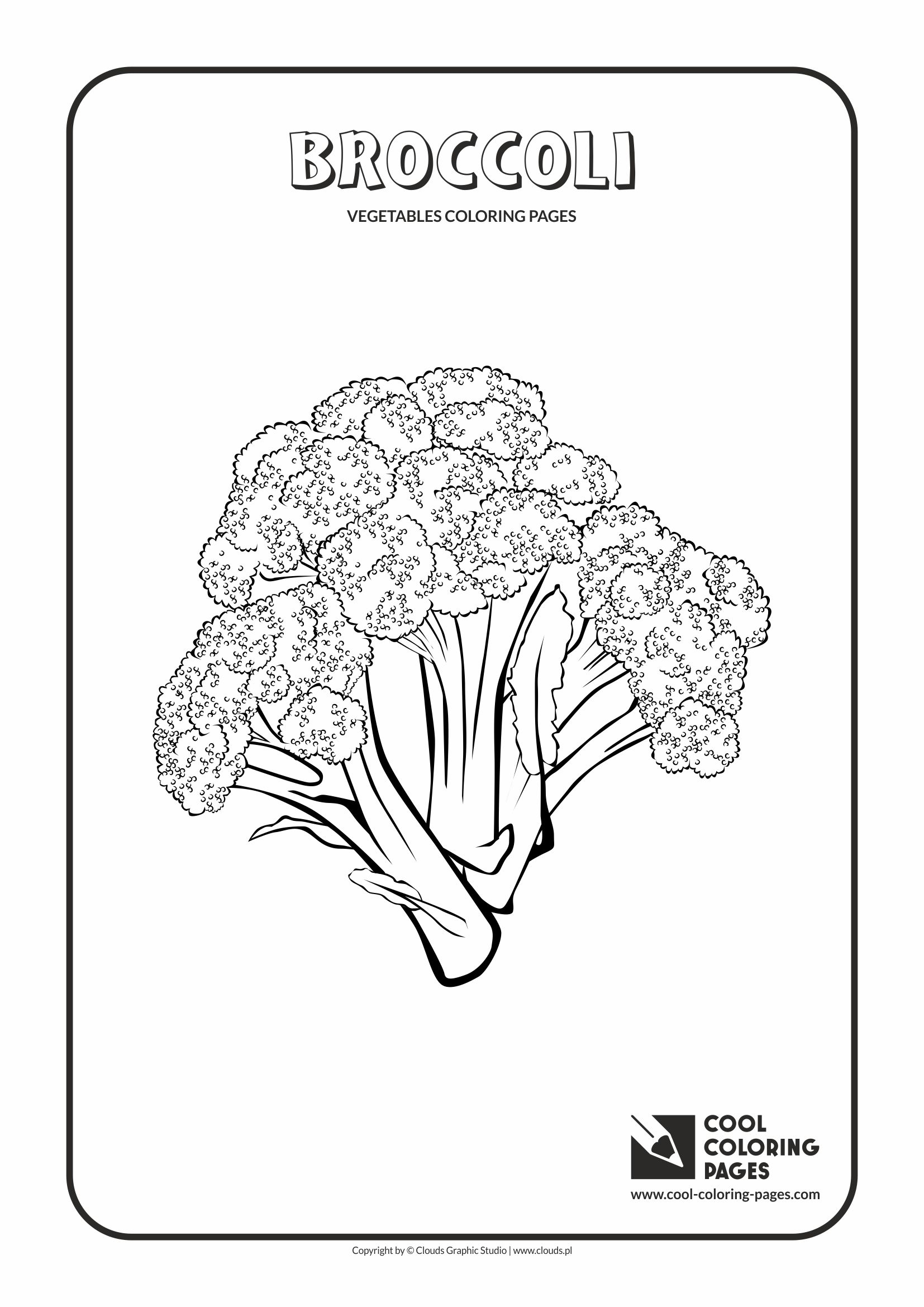 Cool Coloring Pages Vegetables Coloring Pages Cool