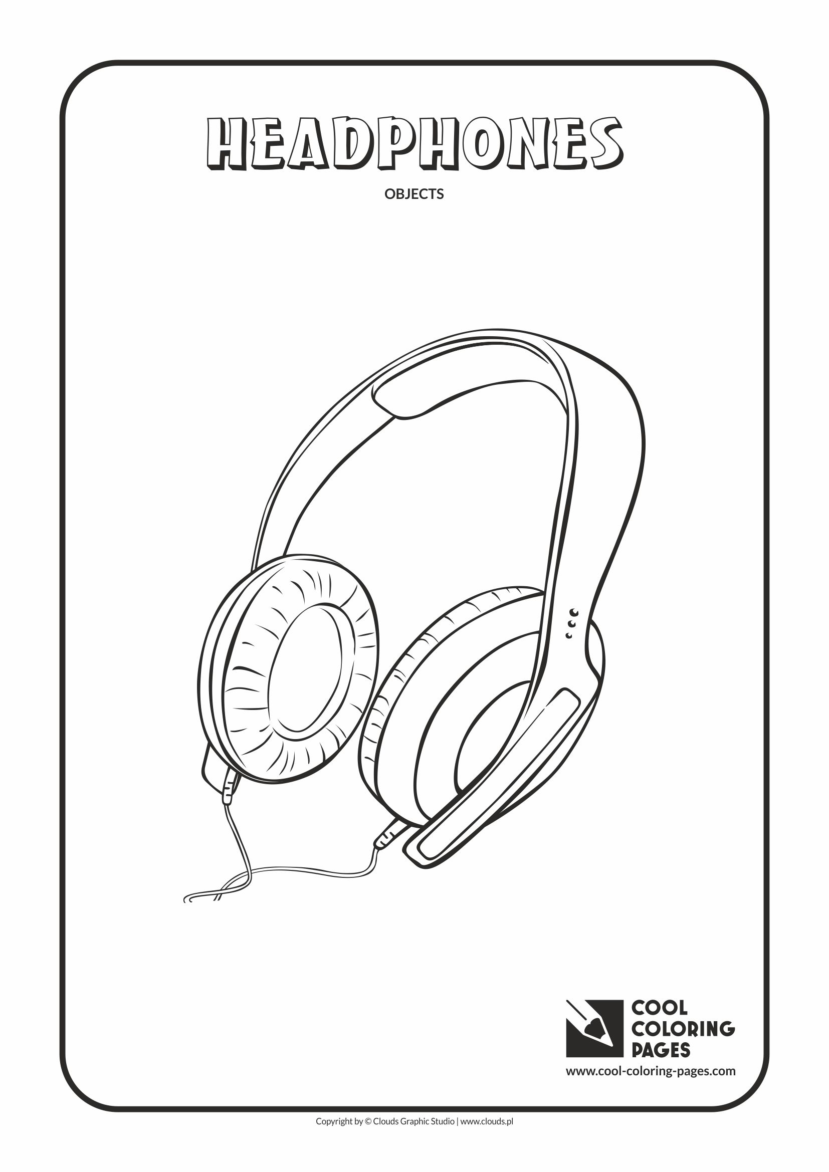 Cool Coloring Pages Coloring Objects Cool Coloring Pages