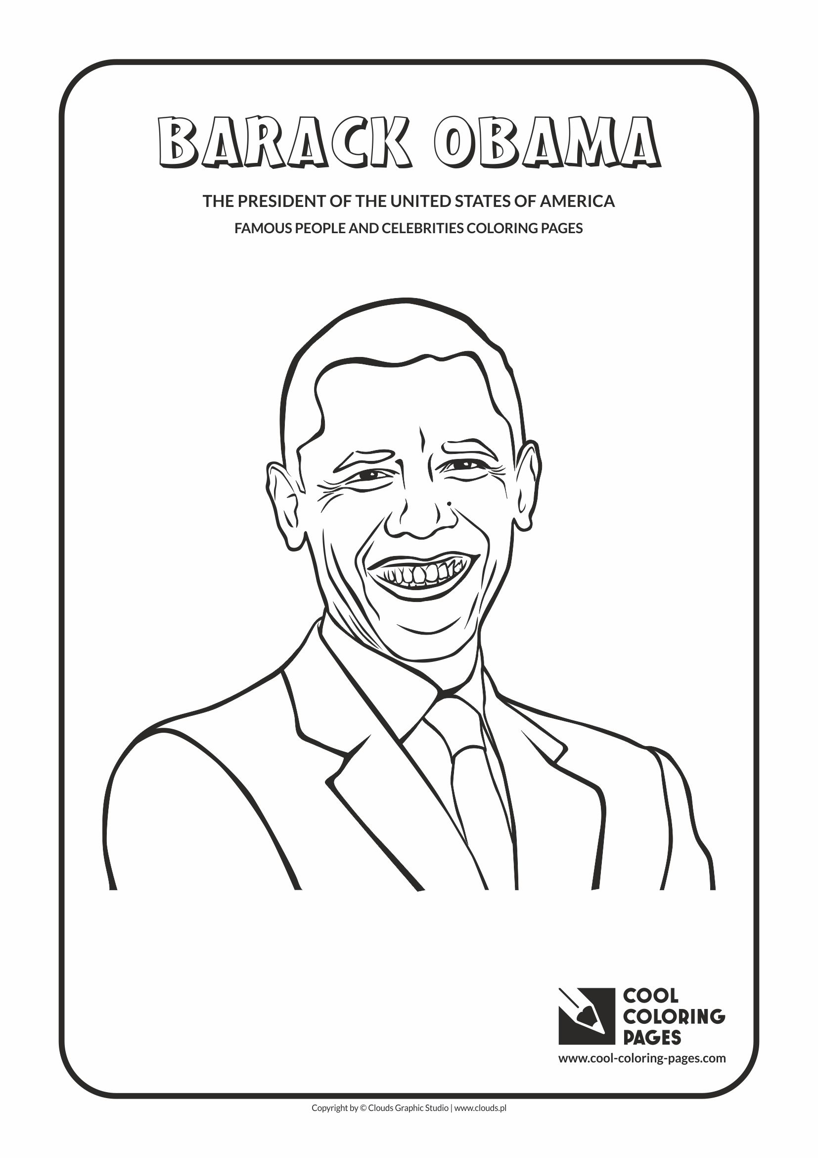 Cool Coloring Pages Famous People And Celebrities