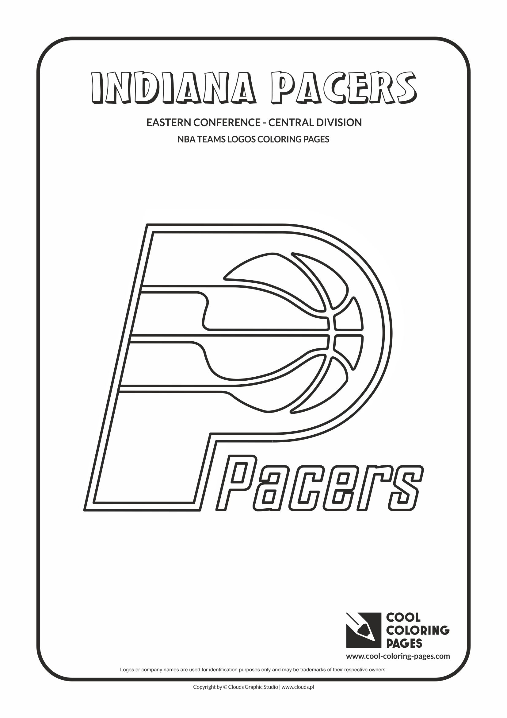 Cool Coloring Pages Indiana Pacers