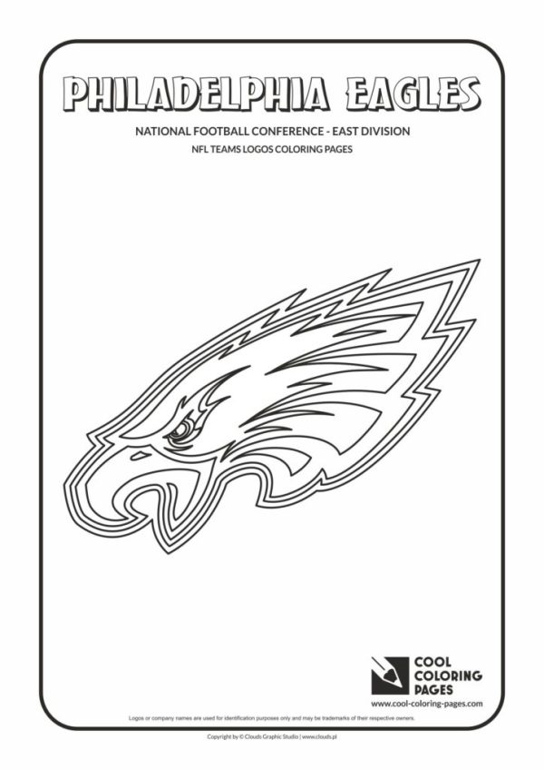 philadelphia eagles coloring pages # 8